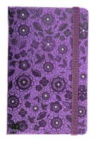 diamante studs in notebook cover design