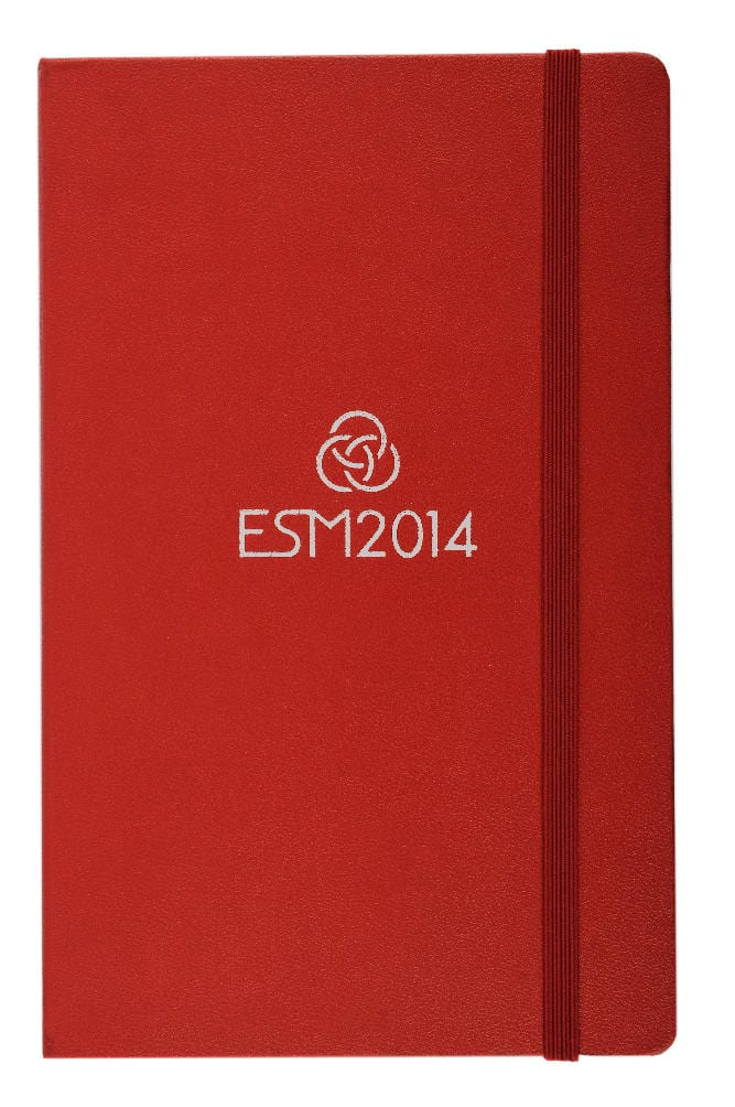ESM red notebook