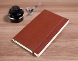 leather pu notebook