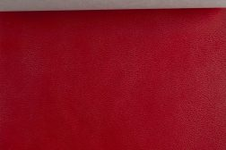 leatherette red