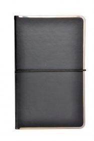 metal framed notebook