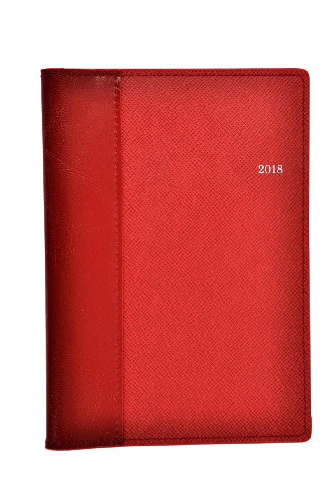 Red PU Wallet front