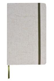 linen notebook